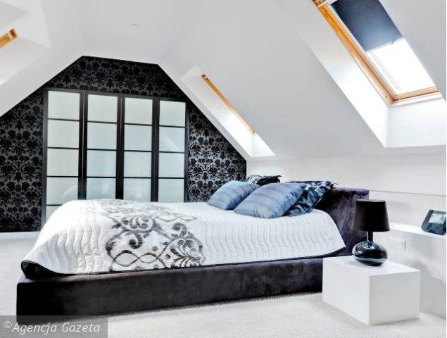 Sypialnia Pod Skosami Dekornictwopl Otaczaj Się Pięknem
