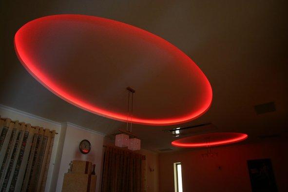 czerwone podświetlenie LED - fot. LARS