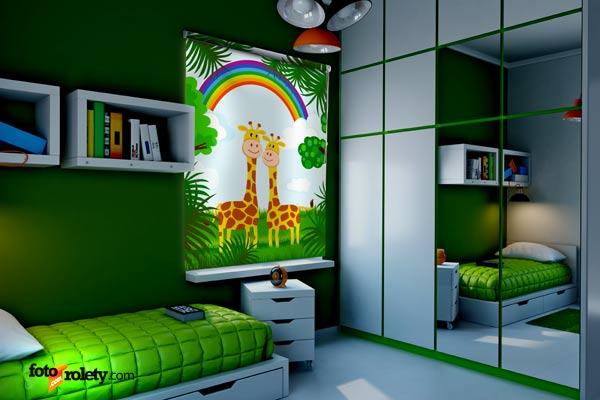 Zabawne widoki z pokoju dziecięcego