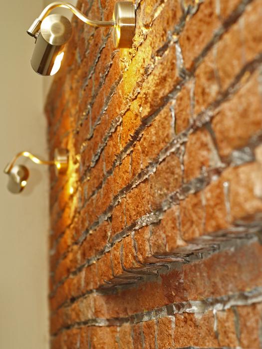 detale muru ceglanego