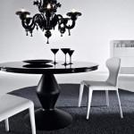 Kler -kolekcja Ciacci, czarny stolik