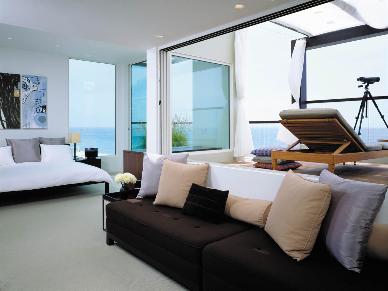 Elegancki minimalizm salonu