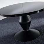 czarny stół kawowy Kler - kolekcja Ciacci