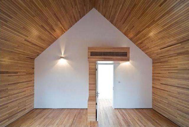 betonowy dom - środek