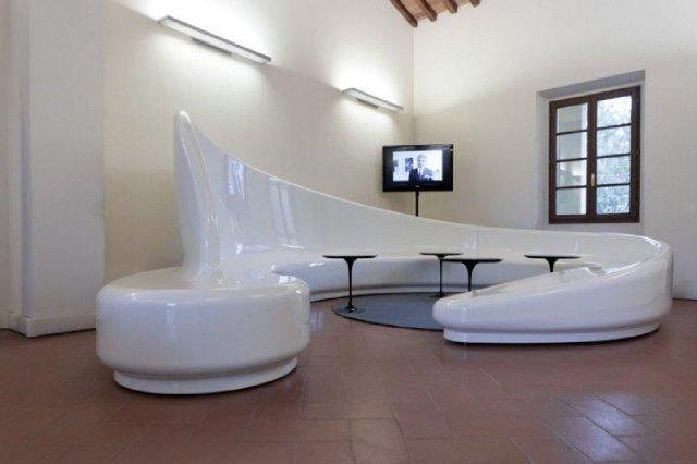 Archetto - kanapa w poczekalni