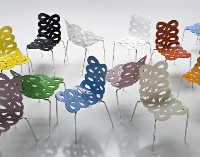 kolorowe krzesła Kler - kolekcja Ciacci