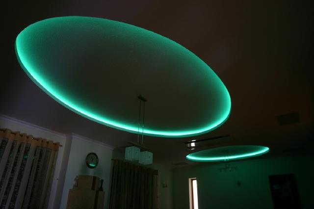 zielone podświetlenie LED - fot. LARS