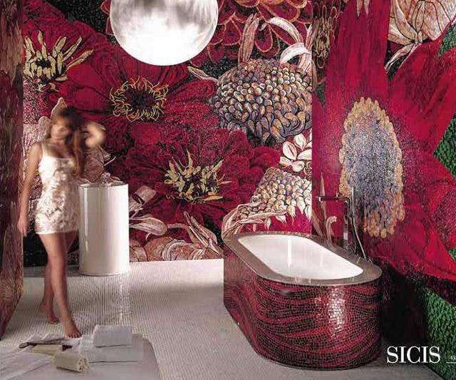 orientalny salon kąpielowy plus czerwona wanna Denver 05 - fot. SICIS