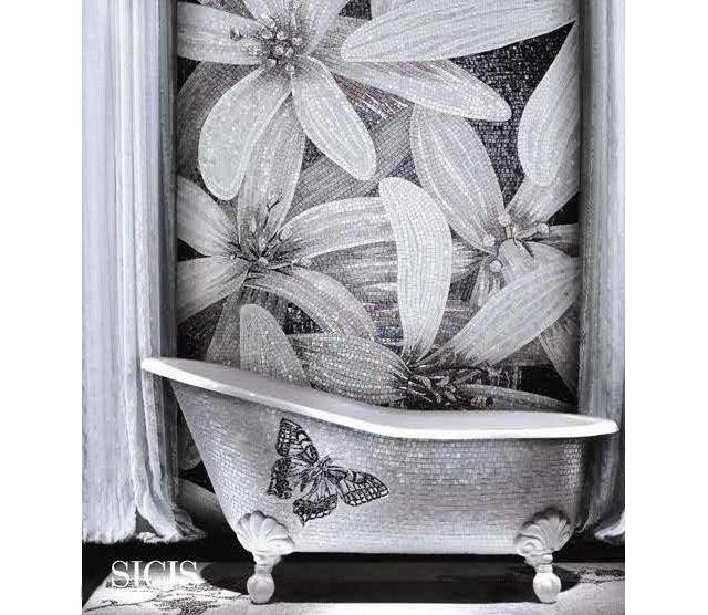 wolno-stojąca wanna z motylkiem (Sultan 02) - fot. SICIS