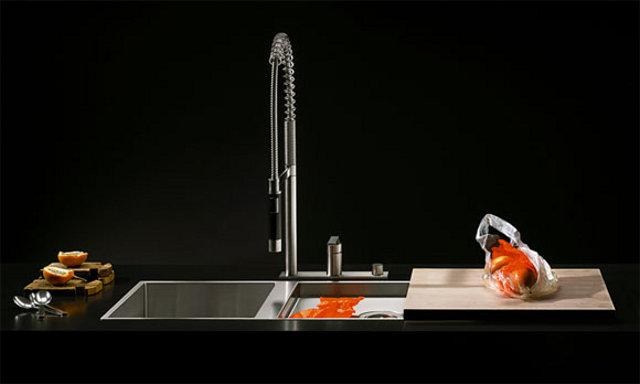 Dornbracht - piękne baterie kuchenne