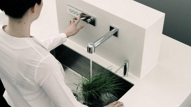 Elektroniczny kran od Dornbracht -Productstudy