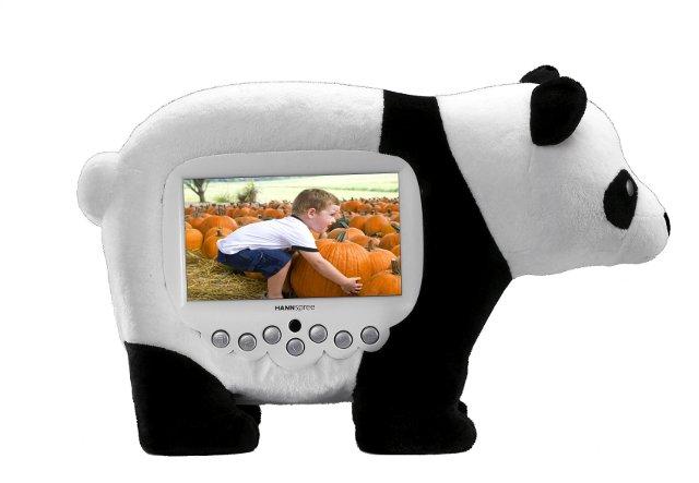 HANNspree - ramka cyfrowa panda