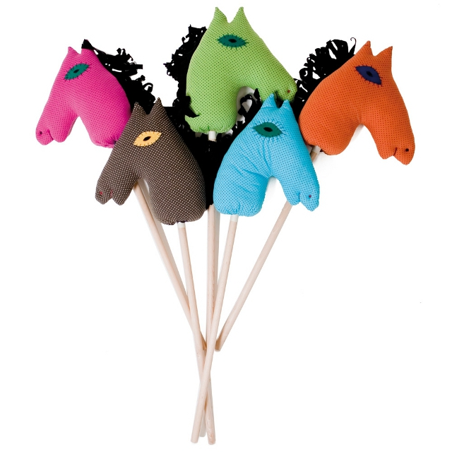 konie na patyku