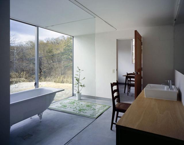 łazienka czy salon kąpielowy, oto jest pytanie - fot. You Shimada/Tato Architects