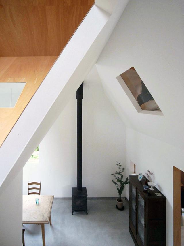 ciekawe ujęcie loftu - fot. You Shimada/Tato Architects