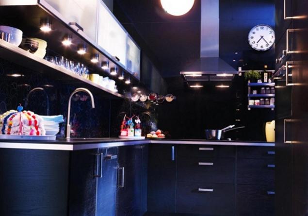 Oświetlenie kuchni - fot. IKEA