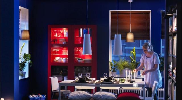 oświetlenie jadalni - fot. IKEA