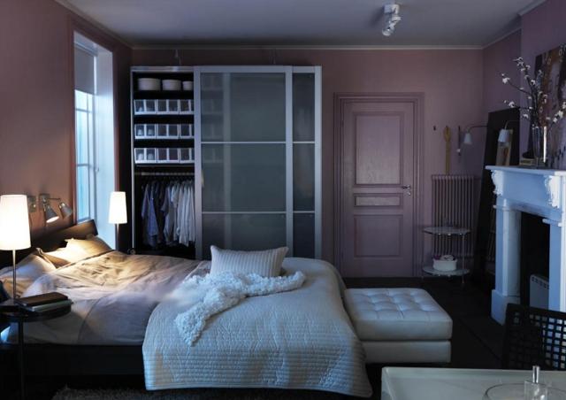 oświetlenie sypialni - fot. IKEA