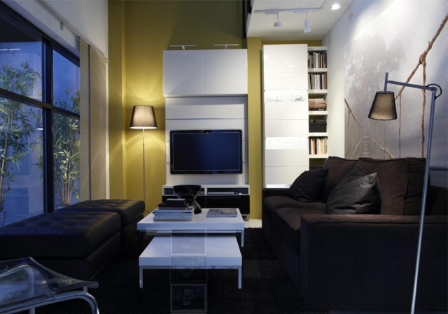 oświetlenie salonu - fot. IKEA
