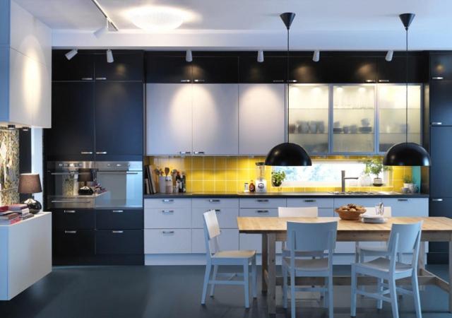 światło w kuchni - fot. IKEA