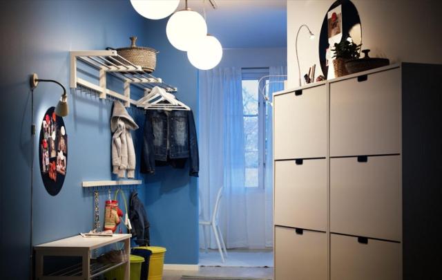 oświetlenie przedpokoju - fot. IKEA