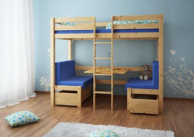 łóżko wielofunkcyjne dla dzieci