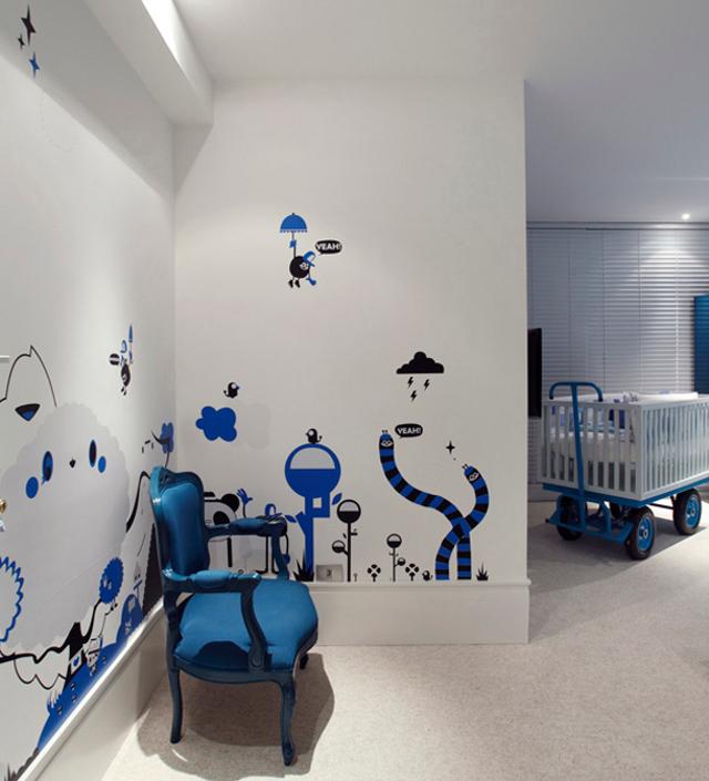 niebieski pokój dla chłopca- fot. Micasa