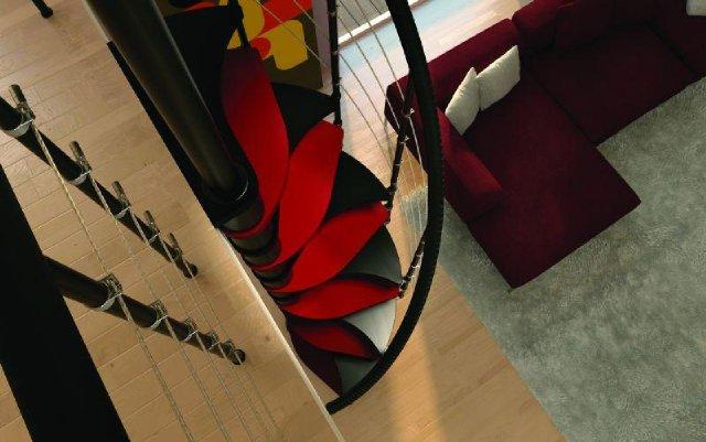 czerwone schody rintal_polska_loft_3