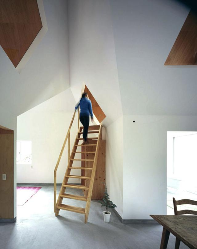 schodami w górę - fot. You Shimada/Tato Architects