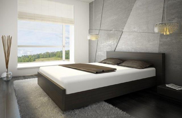 sypialnia w Altoria Apartamenty
