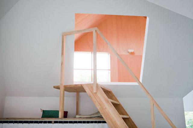 ten dom, to przede wszystkim nietypowe rozwiązania - fot. You Shimada/Tato Architects