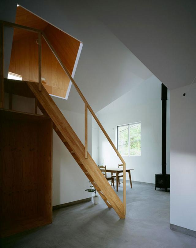 wejście na drugą kondygnację (fot. You Shimada-Tato Architects)