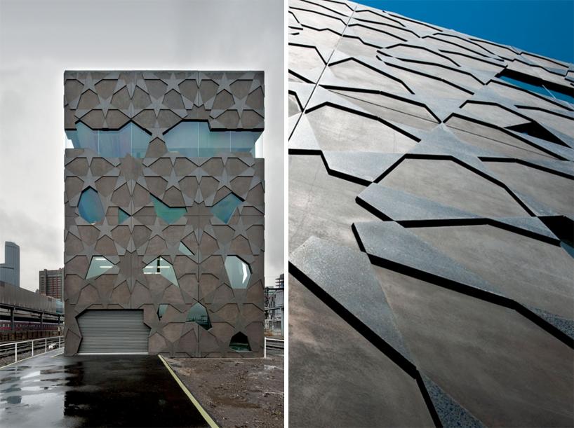 Brama wjazdowa do Yardmaster i widok z mrówczej perspektywy - fot. studio Mcbride Charles Ryan