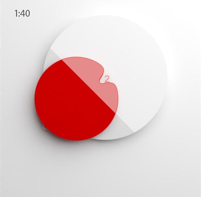 Godzina 1:40 - Japoński Zegar od Anny Marinenko