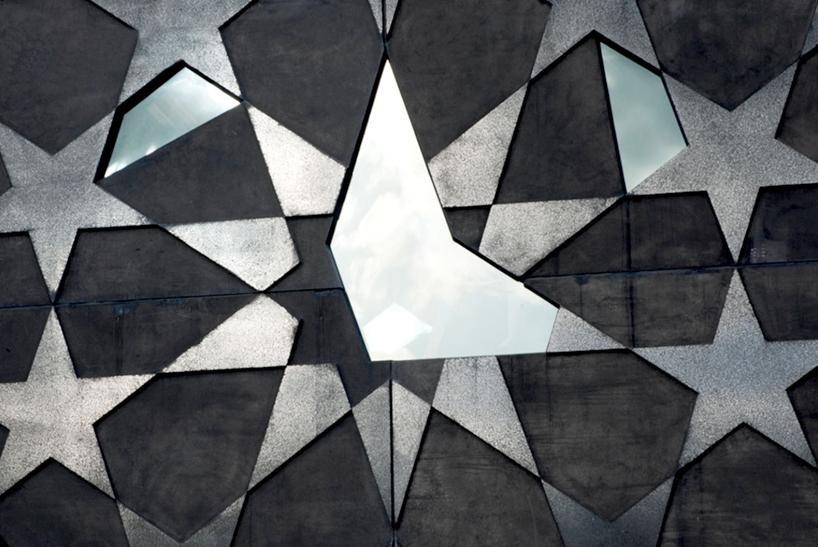 Gwiezdny wzór na Yardmaster z bliska - fot. studio Mcbride Charles Ryan
