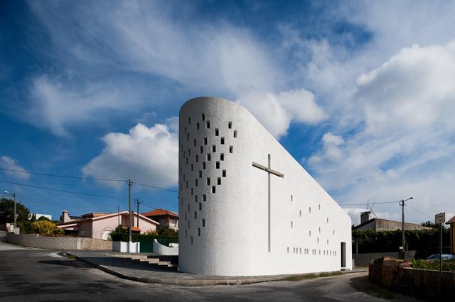 Santa Ana's Chapel by e|348 arquitectura - fot. Fernando Guerra