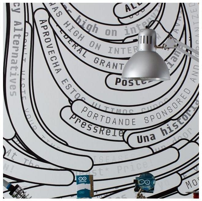 genialny pomysł spamghetto.com na orygilanlą tapetę