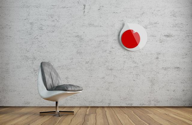 Japoński Zegar od Anny Marinenko