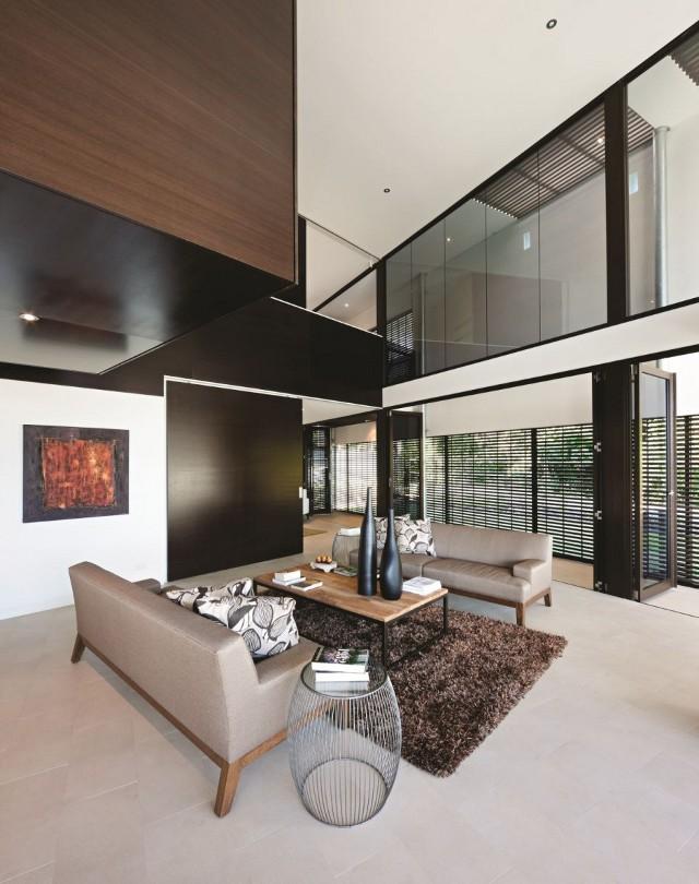 kontrastowy loft od BVN Architecture