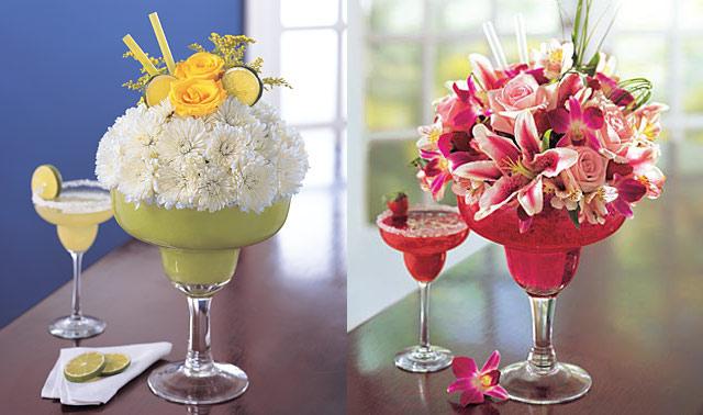 kwiatowe... galaraetki od flowers.com. Wspaniały pomysł dekoratorski