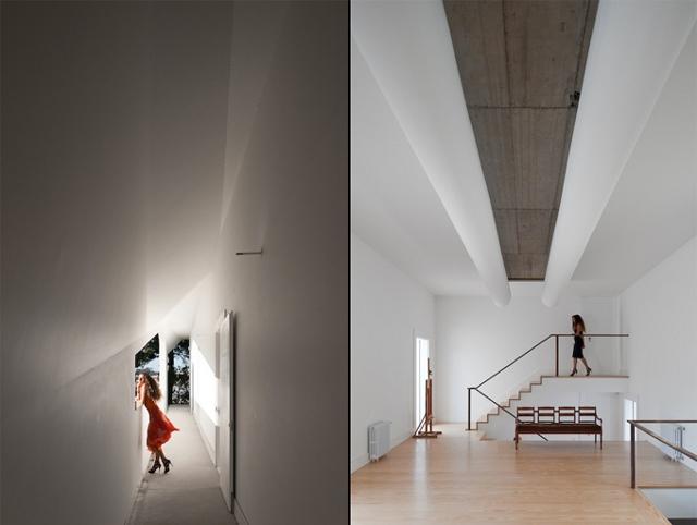 surowe wnętrze Casa Fez - fot. Fernando Guerra