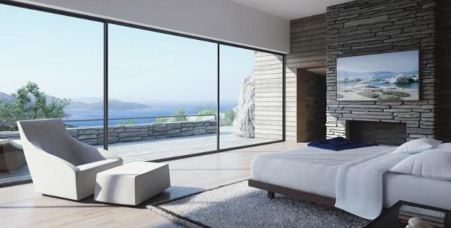 sypialnia w pełnym słońcu - fot. Studio Aiko