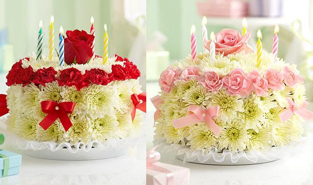 torty kwiatowe - flowers.com