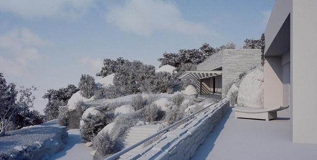 zimą dom jeszcze bardziej pięknieje - fot. Studio Aiko