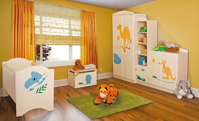 Dzieciece meble - kolekcja Zwierzątka (fot. Adaś Meble)