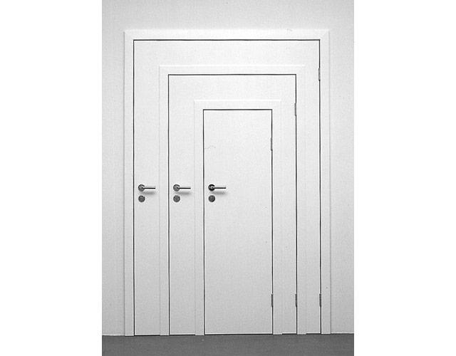 drzwi w drzwiach od Michael Elmgreen & Ingar Dragset
