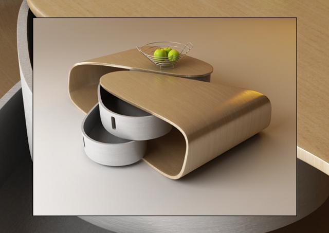 rozsuwany stolik od Nenad Kostadinov
