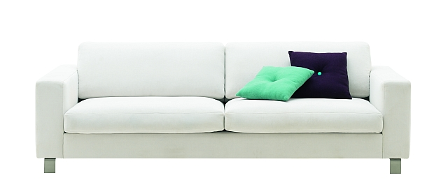 Biała sofa Cesto od BoConcept