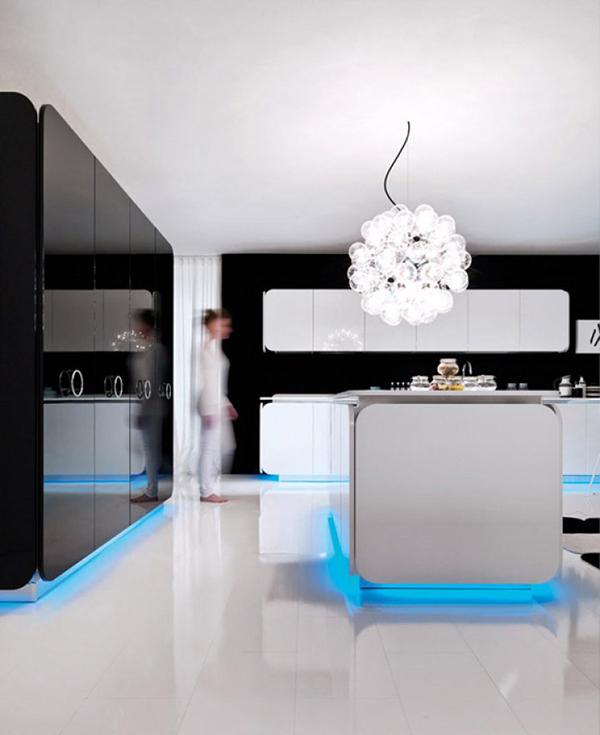 Biel i czerń - kuchnia IT-IS od Euromobil