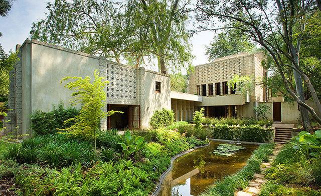Domostwo Alice Millard w Pasadenie - design by Frank Lloyd Wright